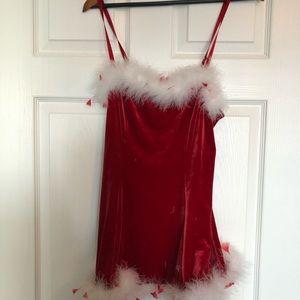 Fredericks of Hollywood naughty Santa dress.